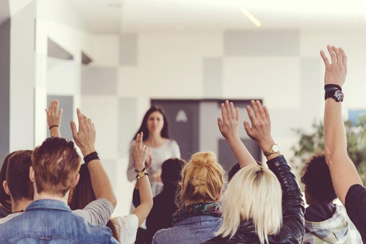 20 فن سخنرانی برای ارائه ی جذاب