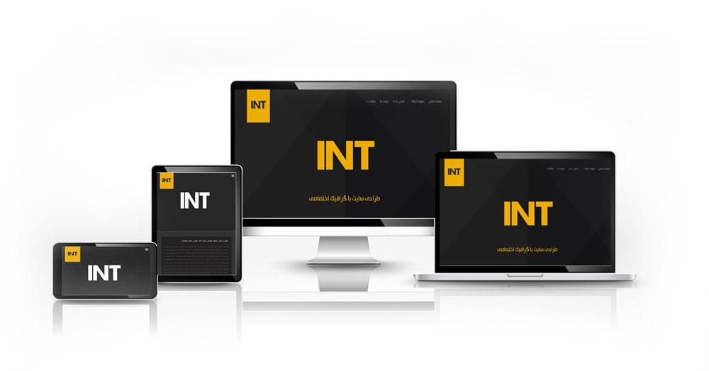 درباره شرکت طراحی سایت INT