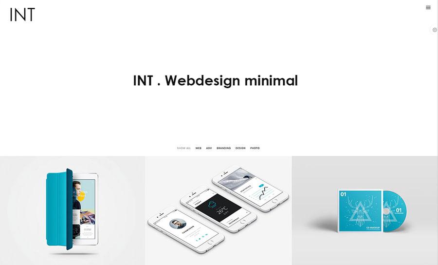 طراحی سایت مینیمال